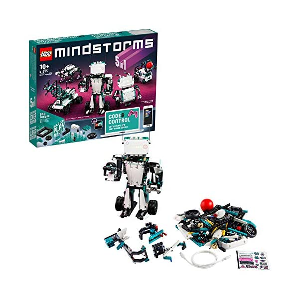 LEGO MINDSTORMS Robot Inventor Building Set 51515; STEM Model Robot Toy for Creative Kids with Remote Control Model…