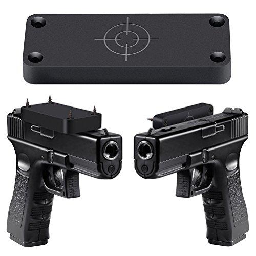 BioBio Gun Magnet Mount&Holster, Magnetic Gun Holder Truck Car Concealed for Pistol, Revolver, Handgun,Shotgun,Rifle for Storage and Quick Access to Firearm - 43Lbs