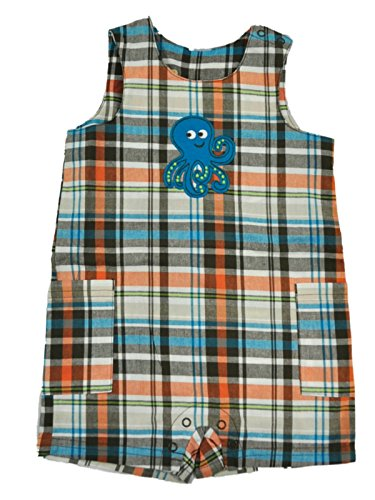Carter's Baby Boys Playwear Octopus Romper