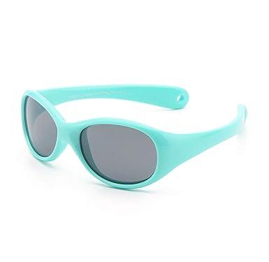 FOURCHEN Gafas de sol para bebés pequeños, 100% resistentes a los rayos UV, gafas de sol para niños pequeños para niños de 0 a 4 años