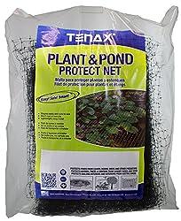 Tenax 2A170104 Polypropylene Mesh Plant and Pond Netting, 14' x 75', White