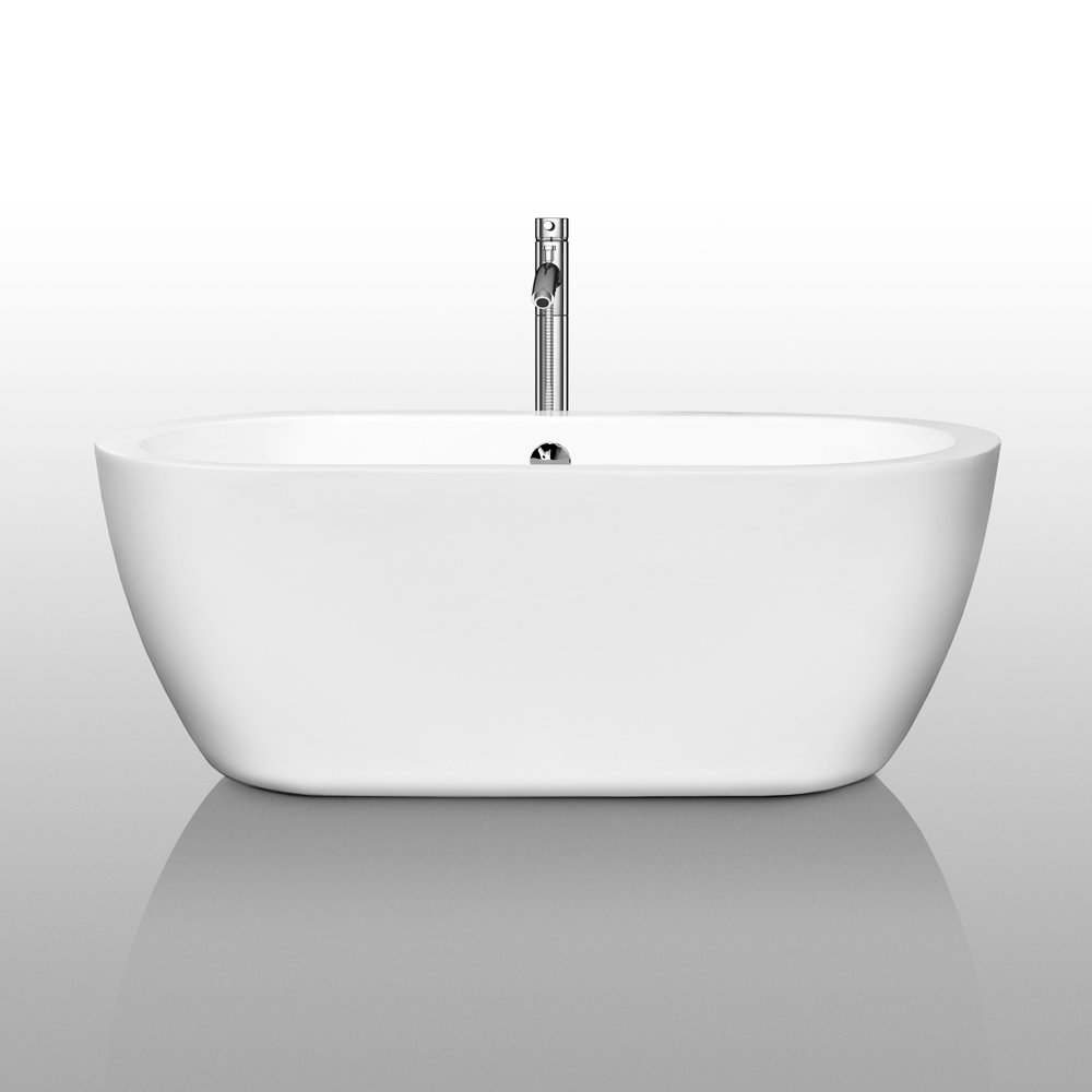 Wyndham Collection Soho 60 inch Freestanding Bathtub for Bathroom in ...