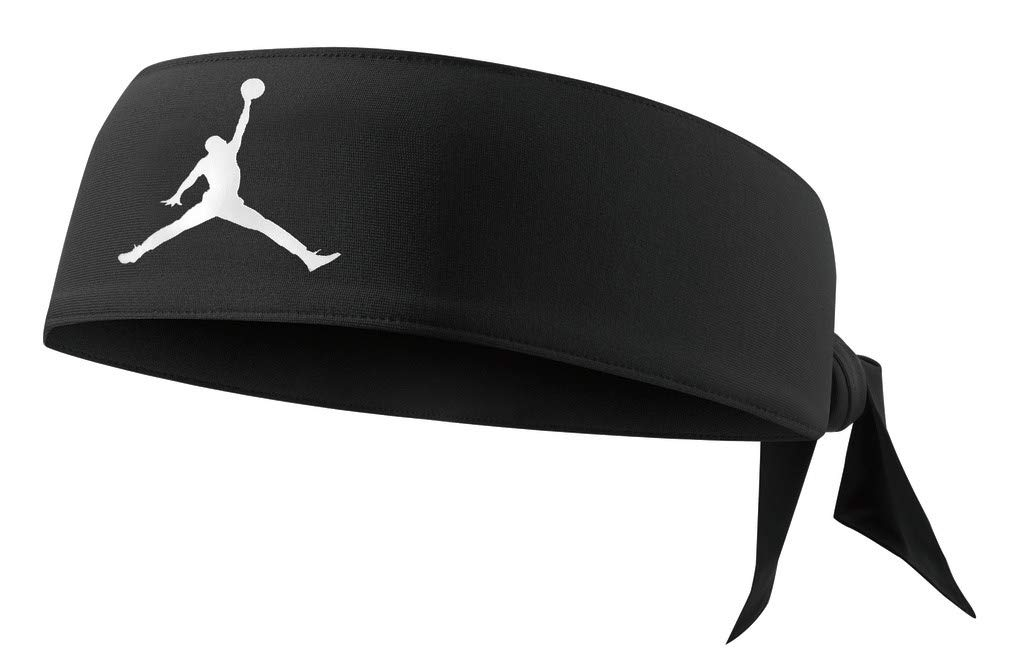 Nike Jordan Jumpman Dri-FIT Head Tie (Black/White)