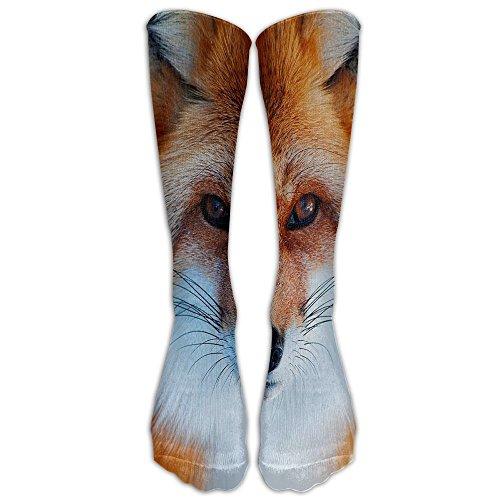 He Man Outfit (Girl Men's Cute Fox Printing Boot Socks 3D Socks Knee High Socks Compression Socks Sport Socks Unisex)