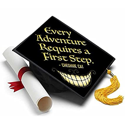 Amazon Tassel Toppers Alice In Wonderland Cheshire Cat Grad Cap