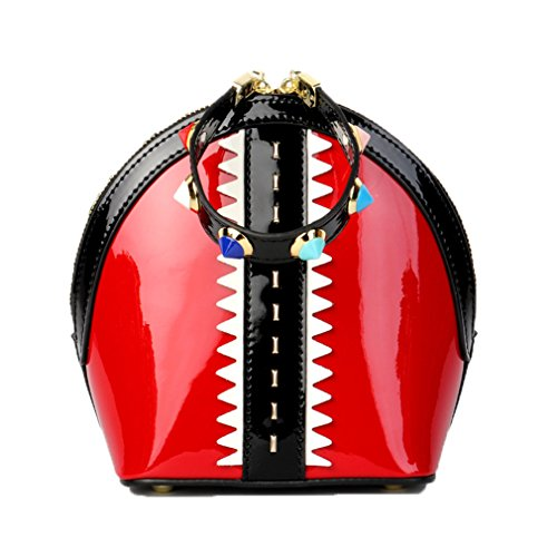 Bags Tote Color Shell Handbag Evening Small Bag Red Women Chains Candy Leather ZJ amp;OS zASvUTnT
