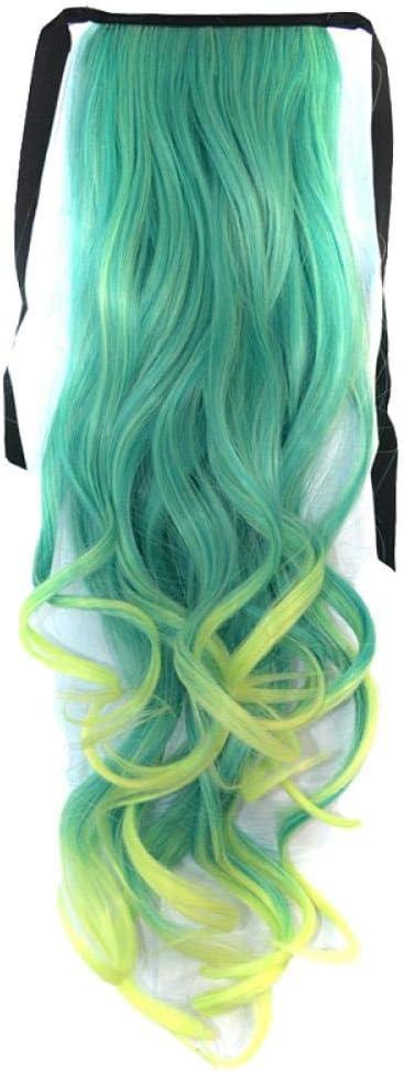 Peluca degradada de color estilo de banda de pelo largo y ...