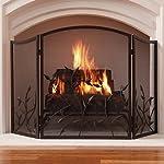 Pleasant Hearth FA092SA Waverly Fireplace Screen by GHP Group, Inc.