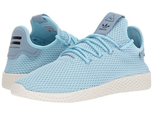 adidas Originals Men's Pharrell Williams Human Race Ice Blue/Ice Blue/Blue 4 D US by adidas Originals (Image #6)