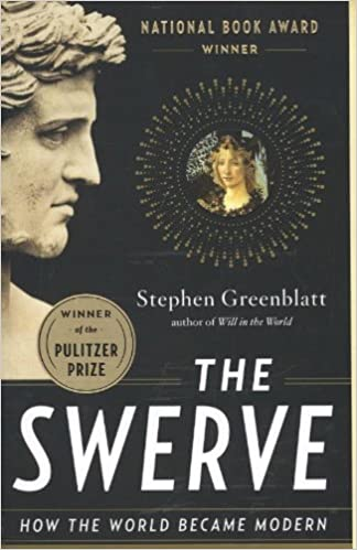 Front cover for the book The Swerve: How the World Became Modern by Stephen Greenblatt
