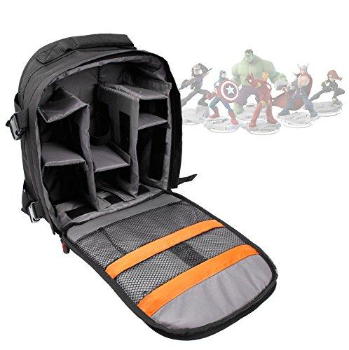 DURAGADGET Deluxe Storage Bag/Carrying Holder Backpack For Marvel Superhero Disney Infinity Figures ()