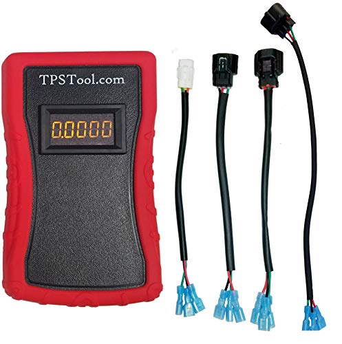 Throttle Position Sensor (TPS) Adjustment and Test Tool, Powered (4 Adapters) by TPSTool.com (Image #5)