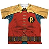 Batman Classic Tv - Robin Costume Youth All Over Print 100% Poly T-Shirt S