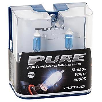 Putco Lighting rm-PUT-230008MW Pair Mirror White H8 Putco 230008MW Pure Halogen Headlight Bulb
