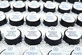 Kaifani 100pcs 5V Active Buzzer Magnetic Long Continous Beep Tone Alarm Ringer 12mm Mini Active Piezo Buzzers Fit for Computers Printers