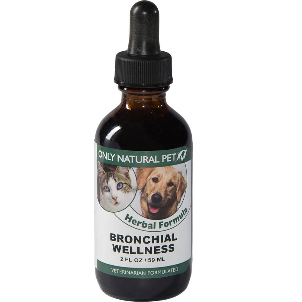 Only Natural Pet Bronchial Wellness Herbal Formula 2 oz by Only Natural Pet