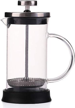 FYHKF Cafeteras de émbolo Cafetera Francesa a presión 350/600/800 ml Olla a presión Cafetera Tetera Separador de Vino (Tamaño : 11 * 19cm(800ml)): Amazon.es: Hogar
