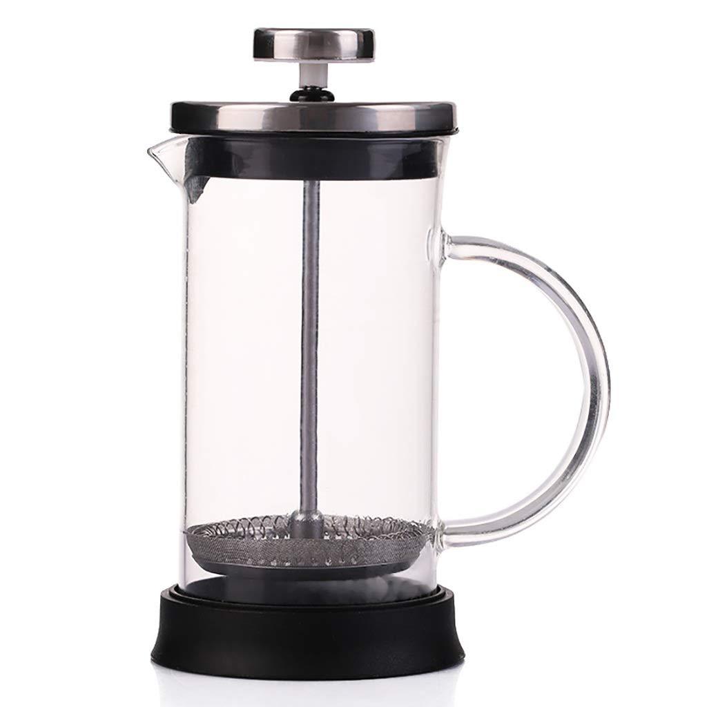 Acquisto FYHKF Caffettiere a pistone Caffettiera a Pressione Francese 350/600 / 800ml Pentola a Pressione di Vetro Macchina per Il tè Separatore di Vino (Dimensioni : 11 * 19cm(800ml)) Prezzi offerta