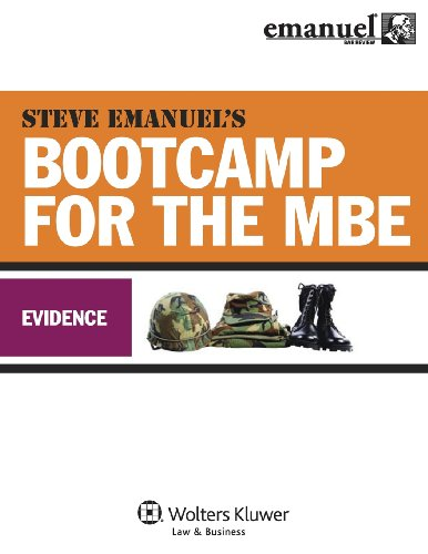 MBE Bootcamp: Evidence (Bootcamp for the (Mbe Boot)