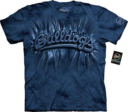 The Mountain Men's Fresno State U Bulldogs Inner Spirit Adult T-Shirt, Blue,