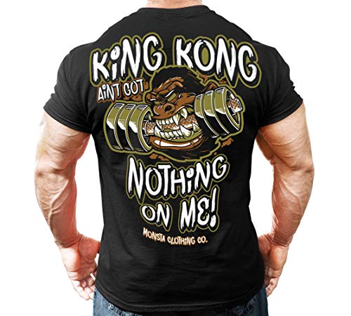 King Kong 287 T-Shirt: Black XL