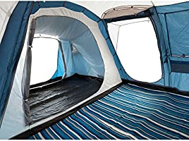 Trespass Go Further 8 Man 4 Room Family Tent: Amazon.co.uk