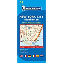 Michelin New York City Manhattan Map 11
