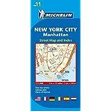 Michelin New York City, Manhatten: Stadtplan 1:11.000 (MICHELIN Stadtpläne)