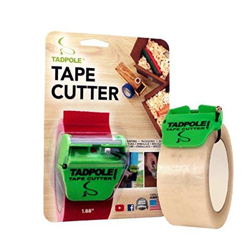 """Tadpole 863376000124 Tape Cutter, 2"""" L x 2"""" W"""
