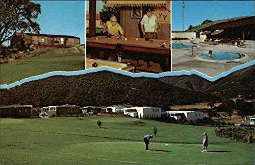 Rancho Santa Ynez Mobile Estates Solvang, California Original Vintage Postcard - Estate Santa