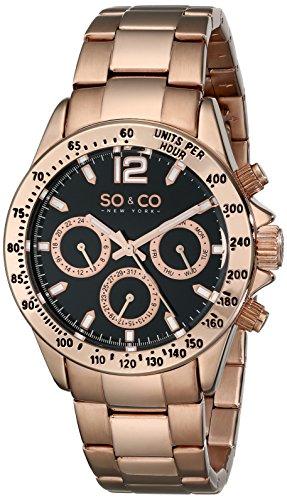 SO-CO-New-York-50014-Reloj-de-cuarzo-para-mujeres-rosado