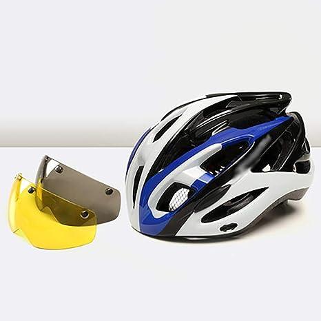 YXDDG Casco para Bicicleta montaña con Visera extraíble y ...