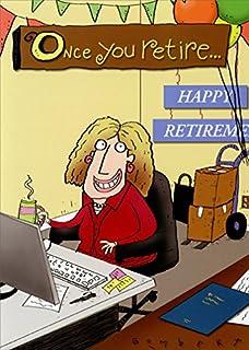 Amazon dog office chair fun avanti funny retirement card woman at desk retirement oatmeal studios funny retirement card m4hsunfo