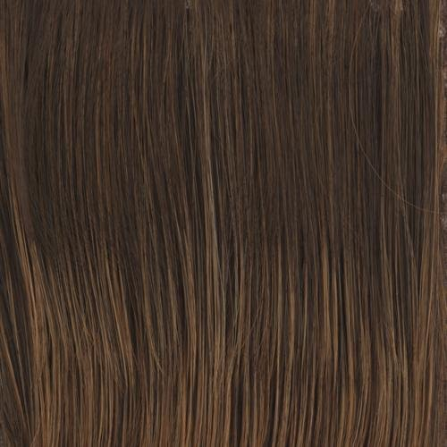 Top Billing Topper Color RL6/28 BRONZE SABLE - Raquel Welch Wigs Heat Friendly Synthetic Lace Front Monofilament Top Women's Volume Hairpiece