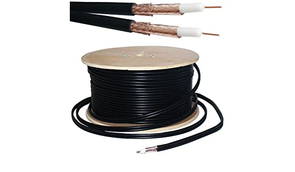 Amazon.com: 25M Twin Coaxial Shotgun Cable -Copper Foam ...