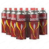 12 Butane Fuel GasOne Canisters for Portable