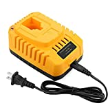 Powilling DC9310 7.2-Volt-18-Volt 1-Hour Replacement Charger for DEWALT 7.2V-18V NiCad & NiMh Battery DW9057 DC9071 DC9091 DC9096 DW9072 DW9091 DW9099