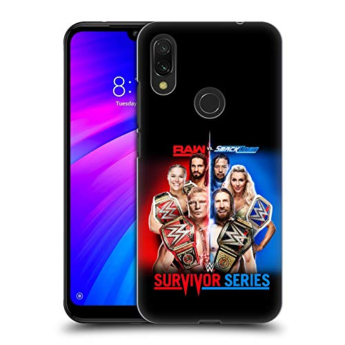 Official WWE Raw Versus Smackdown 2018 Survivor Series Hard Back Case Compatible for Xiaomi Redmi 7 (2019) (Best Of Raw And Smackdown 2019)