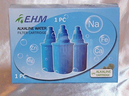 Spruce Chic Filtration Method Alkaline Ionizer Water Pitcher Filter Replacement Jug Blue 1 PC