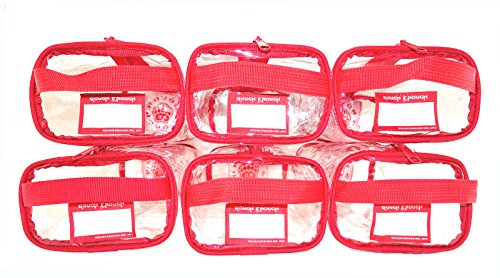Rough Enough Multi Function Clear Transparent PVC Travel Too