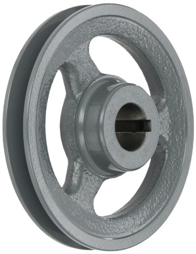 Gates AK54 Light Duty Spoke Sheaves, AK Type, 5.25'' OD, 1 Groove, 1'' Bore by Gates
