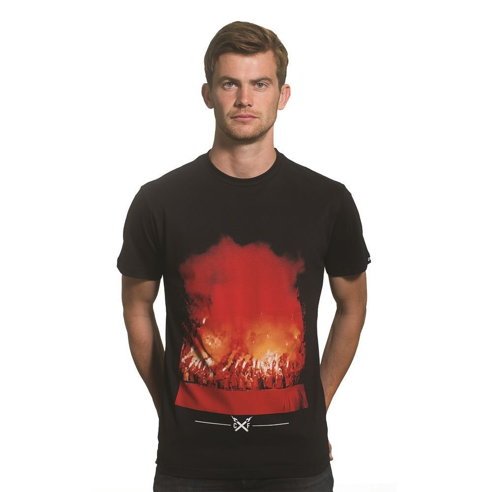 COPA Football - Pyro T-shirt - Schwarz