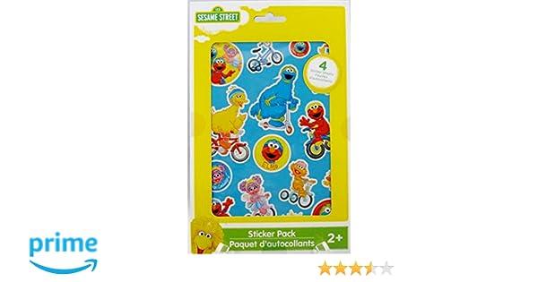 Amazon Sesame Street Sticker Pack Toys Games