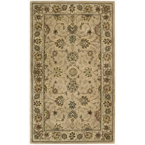 Nourison Nourison 2000 (2071) Camel Runner Area Rug, 2-Feet 6-Inches by 12-Feet  (2'6