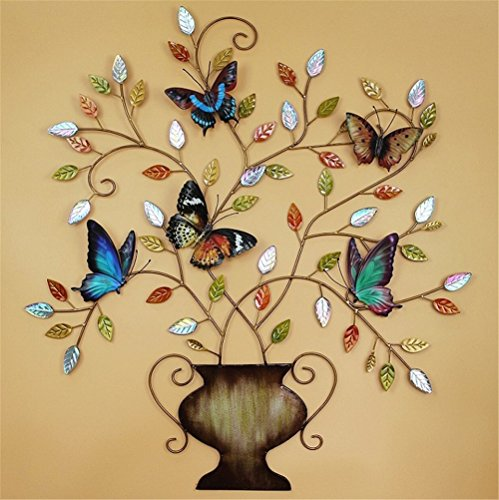 Vibrant Unique And Trendy Metal Butterfly Wall Art