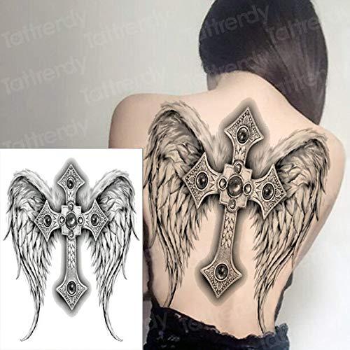 Zhuhuimin El Tatuaje Impermeable de Las Mujeres de los Hombres del ...