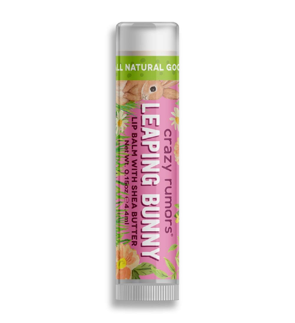 Crazy Rumours Leaping Bunny Plum Apricot Lip Balm .440ml CRAZY RUMORS