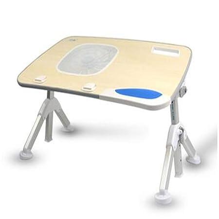 GDSGFDHFH Mesa portatil Portable Foldable Adjustable Desk Study ...