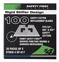 Pacific Handy Cutter SP017 Safety Point Blade (Box of 100)