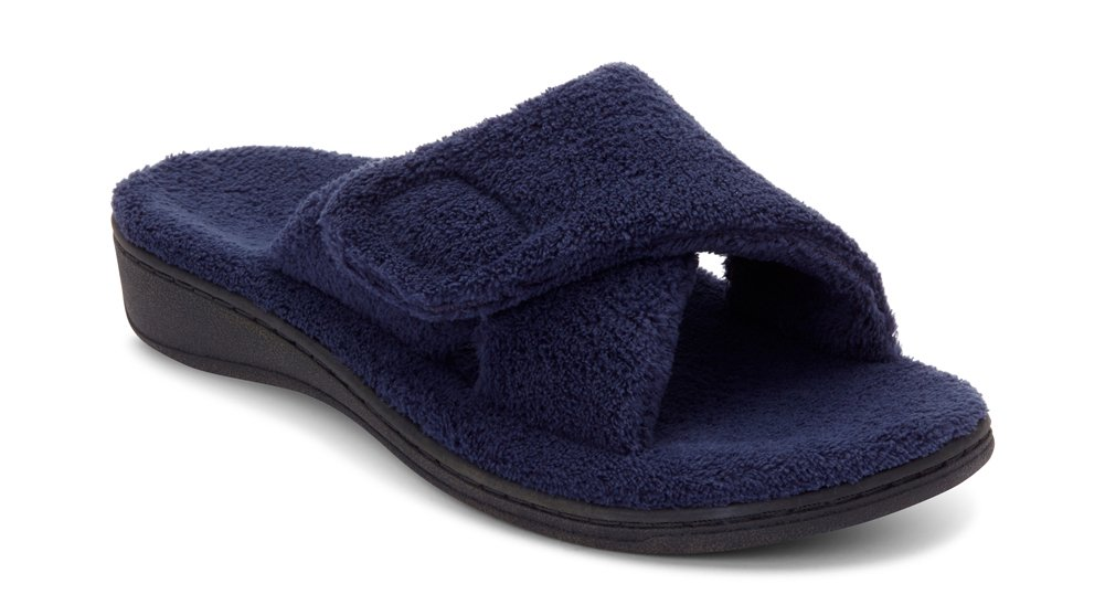 Vionic Women's Indulge Relax Slipper Navy 9 M